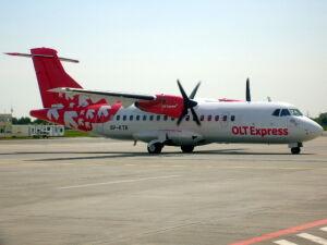 """OLT Express """"zawiesiły"""" wszystkie loty ATR-ami"""