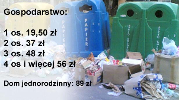 Opłaty za śmieci posegregowane tvnwarszawa.pl