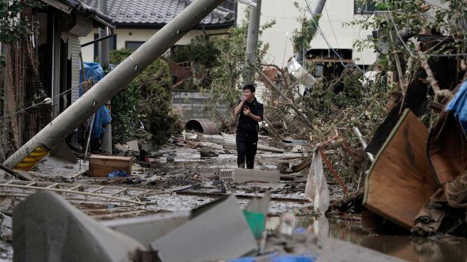 Znajdują kolejne ofiary śmiertelne. Tajfun Hagibis przyniósł ogromne zniszczenia