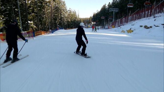 Naśnieżone trasy narciarskie i wspaniała atmosera. Karpacz zachęca turystów