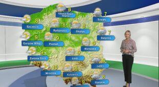 Prognoza pogody na poniedziałek 11.11