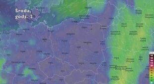 Porywy wiatru w najbliższych dniach (Ventusky.com) | wideo bez dźwięku
