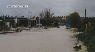 Ulewy i powodzie we Włoszech